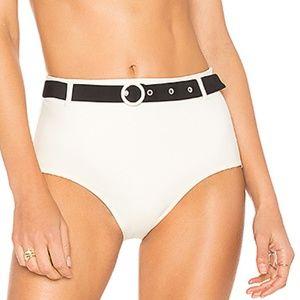 NWT Solid & Striped Quinn Cream Bottom Size L